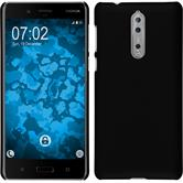 Hardcase 8 rubberized black Case