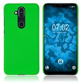 Hardcase Nokia 8.1 (X7) rubberized green Cover