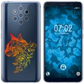 Nokia 9 PureView Silicone Case floral M2-2