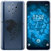 Nokia 9 PureView Silicone Case floral M4-1