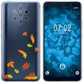 Nokia 9 PureView Custodia in Silicone autunno  M1