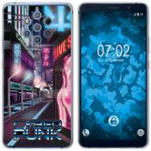 Nokia 9 PureView Silicone Case Retro Wave M4