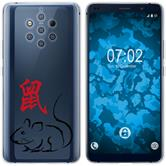 Nokia 9 PureView Silikon-Hülle Tierkreis Chinesisch  M1