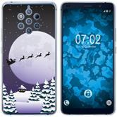 Nokia 9 PureView Silicone Case Christmas X Mas M5