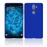 Silicone Case Nokia 9 matt blue Case