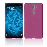 Silicone Case Nokia 9 matt hot pink Case