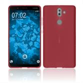 Silicone Case Nokia 9 matt red Case