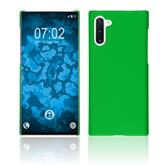 Hardcase Galaxy Note 10 rubberized green Cover
