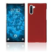 Hardcase Galaxy Note 10 rubberized red Cover