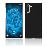 Hardcase Galaxy Note 10 rubberized black Cover
