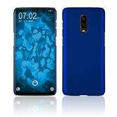 Hardcase OnePlus 6T rubberized blue Cover
