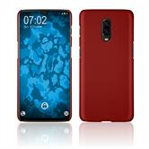 Hardcase OnePlus 6T rubberized red Cover