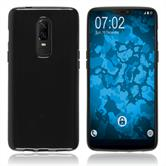 Silikon Hülle OnePlus 6  schwarz Case