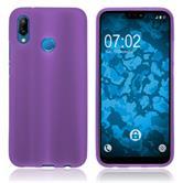 Silicone Case P20 Lite matt purple Case