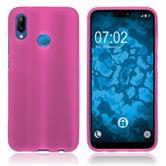 Silicone Case P20 Lite matt hot pink Case