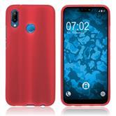 Silicone Case P20 Lite matt red Case