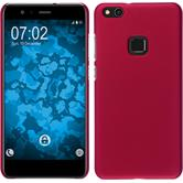 Hardcase P10 Lite rubberized hot pink