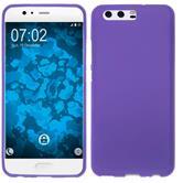 Silicone Case P10 Plus matt purple Case