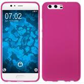 Silicone Case P10 Plus matt hot pink Case