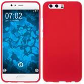 Silicone Case P10 Plus matt red Case