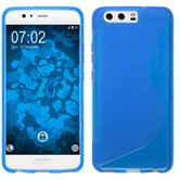 Silicone Case P10 Plus S-Style blue Case