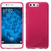 Silicone Case P10 Plus S-Style hot pink Case
