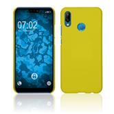Hardcase P20 Lite rubberized yellow Case