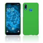 Hardcase P20 Lite rubberized green Case