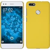 Hardcase P9 Lite Mini rubberized yellow Case