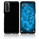 Silicone Case P Smart 2021  black Cover