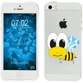 Apple iPhone 5 / 5s / SE Silikon-Hülle Cutiemals Motiv 1