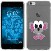 Apple iPhone 6 Plus / 6s Plus Silicone Case Cutiemals design 6 Case iPhone 6 Plus / 6s Plus + protective foils