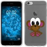 Apple iPhone 6 Plus / 6s Plus Silikon-Hülle Cutiemals Motiv 3