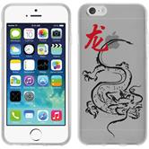 Apple iPhone 6 Plus / 6s Plus Silikon-Hülle Tierkreis Chinesisch Motiv 5