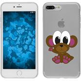 Apple iPhone 7 Plus Silikon-Hülle Cutiemals Motiv 3
