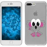 Apple iPhone 7 Plus Silikon-Hülle Cutiemals Motiv 6
