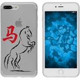 Apple iPhone 7 Plus / 8 Plus Silikon-Hülle Tierkreis Chinesisch  M7