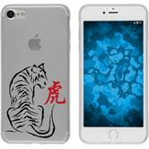PhoneNatic Apple iPhone 7 Silicone Case Chinese Zodiac design 3 Case iPhone 7 + protective foils