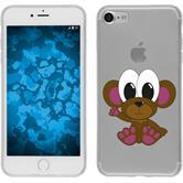 Apple iPhone 7 Silikon-Hülle Cutiemals Motiv 3