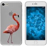 Apple iPhone 7 Silikon-Hülle Vektor Tiere Motiv 2