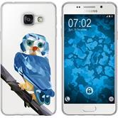 Samsung Galaxy A3 (2016) A310 Silikon-Hülle Vektor Tiere Motiv 1