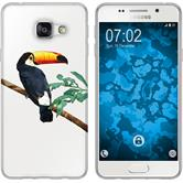 Samsung Galaxy A3 (2016) A310 Silikon-Hülle Vektor Tiere Motiv 5