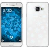 PhoneNatic Samsung Galaxy A3 (2016) A310 Silikon-Hülle X Mas Weihnachten Motiv 2 Case Galaxy A3 (2016) A310 Tasche + 2 Schutzfolien