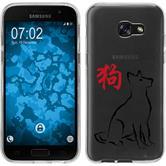 Samsung Galaxy A5 2017 Silikon-Hülle Tierkreis Chinesisch Motiv 11