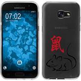 Samsung Galaxy A5 2017 Silikon-Hülle Tierkreis Chinesisch  M1