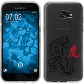 Samsung Galaxy A5 2017 Silikon-Hülle Tierkreis Chinesisch Motiv 3