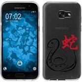Samsung Galaxy A5 2017 Silikon-Hülle Tierkreis Chinesisch Motiv 6