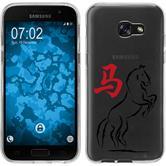 Samsung Galaxy A5 2017 Silikon-Hülle Tierkreis Chinesisch  M7
