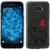 Samsung Galaxy A5 2017 Silikon-Hülle Tierkreis Chinesisch  M8