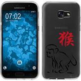 Samsung Galaxy A5 2017 Silikon-Hülle Tierkreis Chinesisch  M9